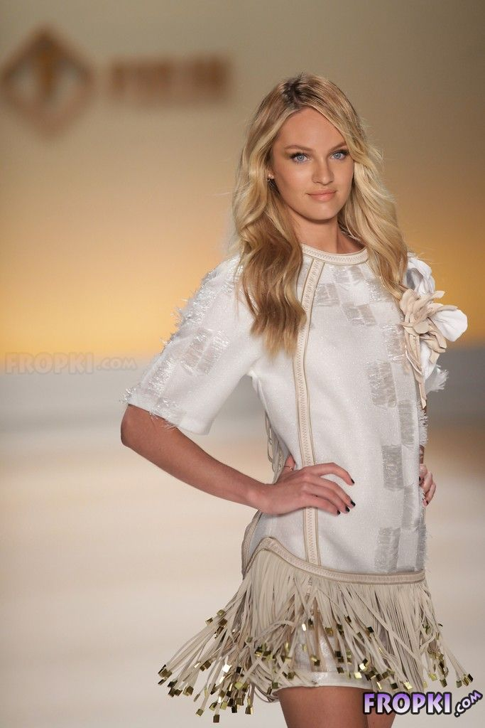 Candice Swanepoel - 2014 Sao Paulo Fashion Week