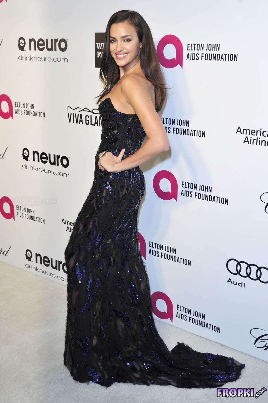 Irina Shayk - Elton John AIDS Foundation Party