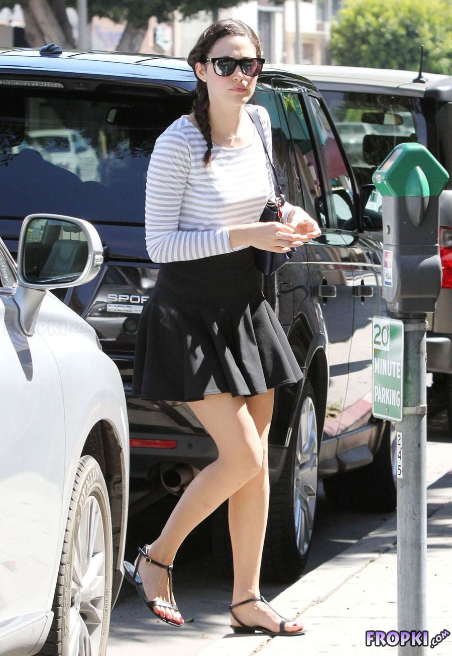 Sexy Emmy Rossum Out in Beverly Hills