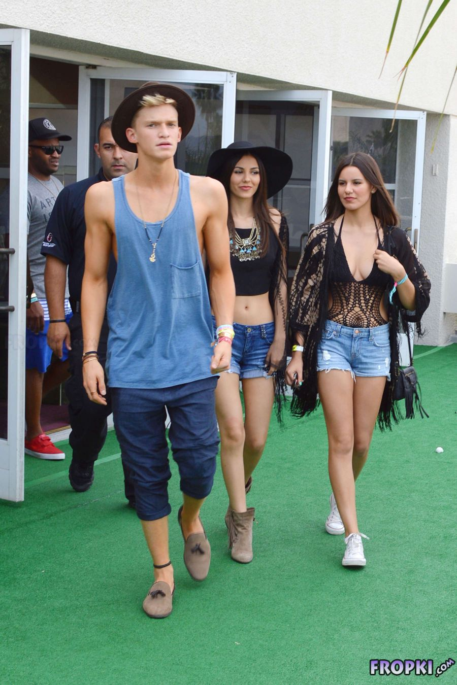 Victoria Justice - Hard Rock Party in Palm Springs