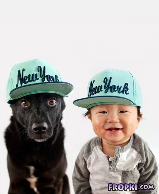 Adorable Photos of 10-Month-Old Baby & Rescue Dog