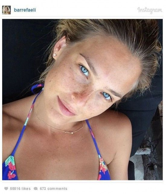 Celebs without Makeup - Instagram Pics