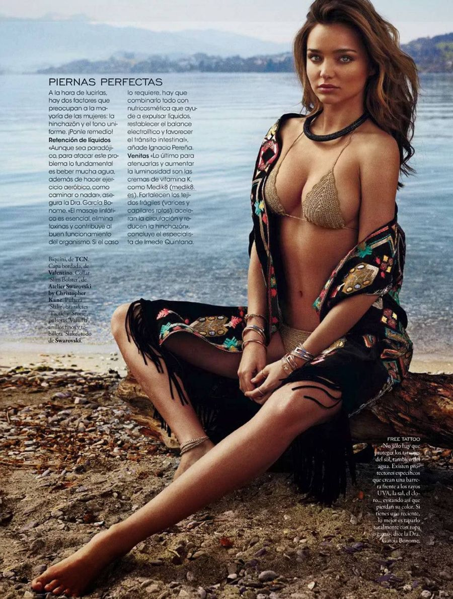 Miranda Kerr - Elle Spain Magazine (May 2014)