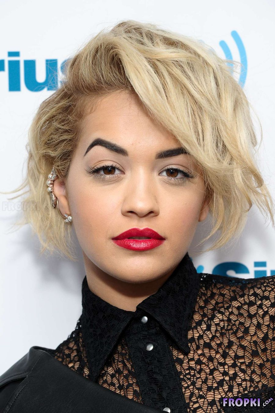 Rita Ora at SiriusXM Studios in NYC