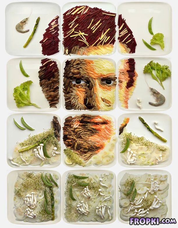 Painting with Food