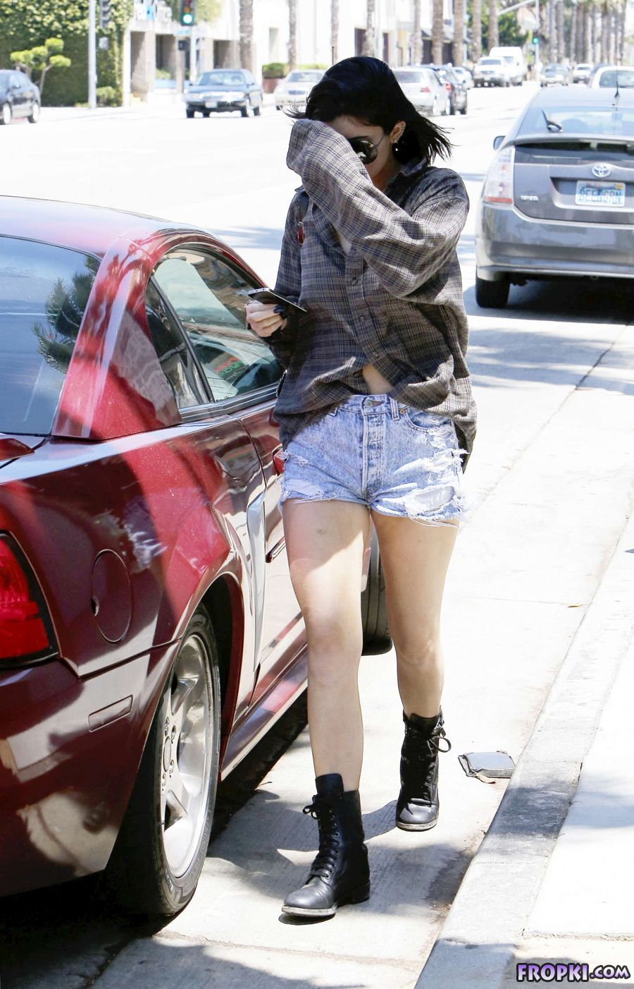 Kylie Jenner Sexy Out in Hollywood