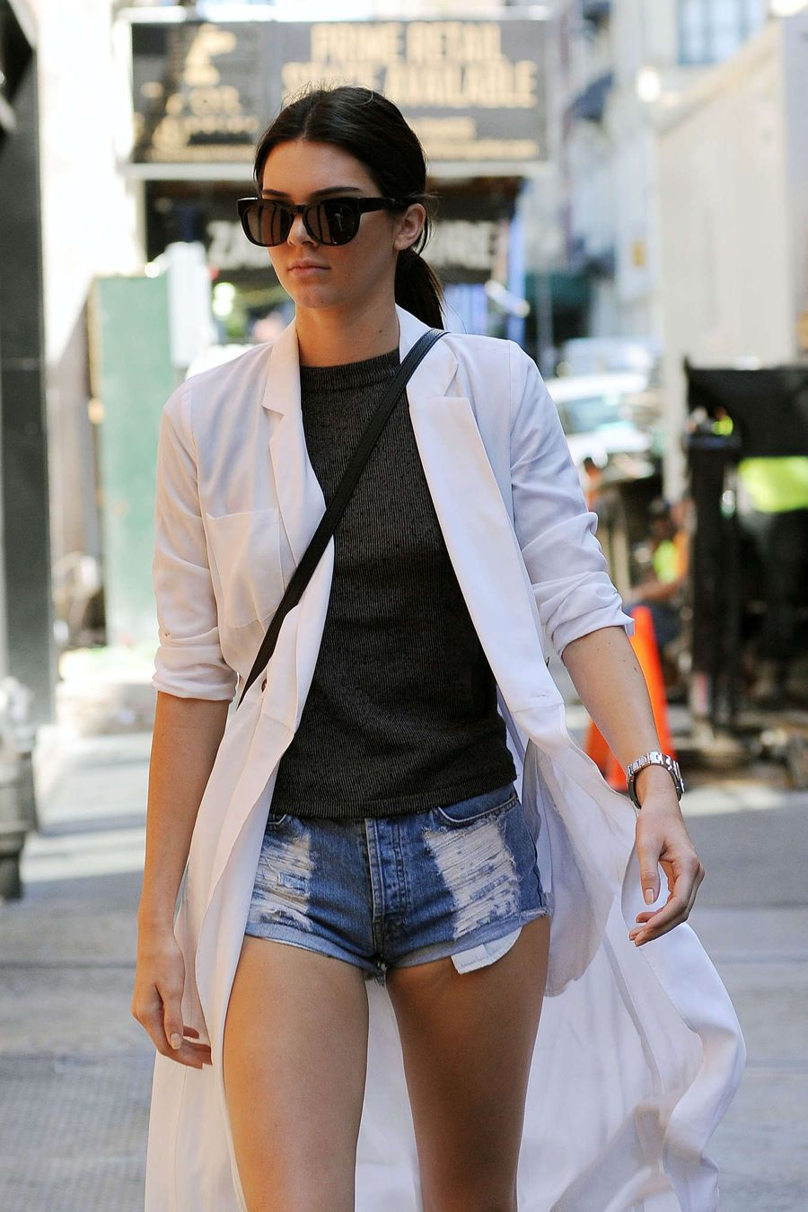 Kendall Jenner Seen Out in NY