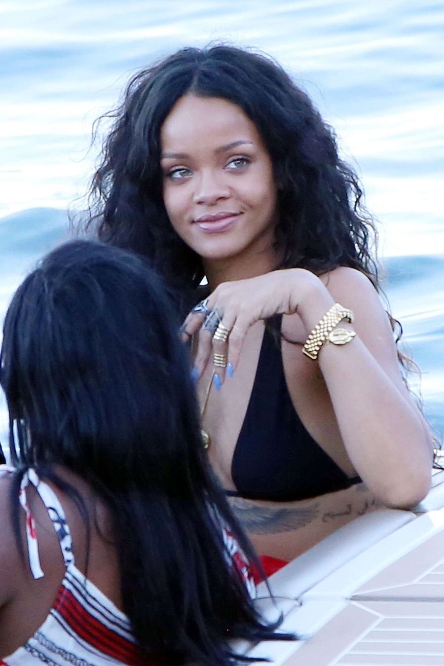 Rihanna In bikini vacationing in Sicily, Italy