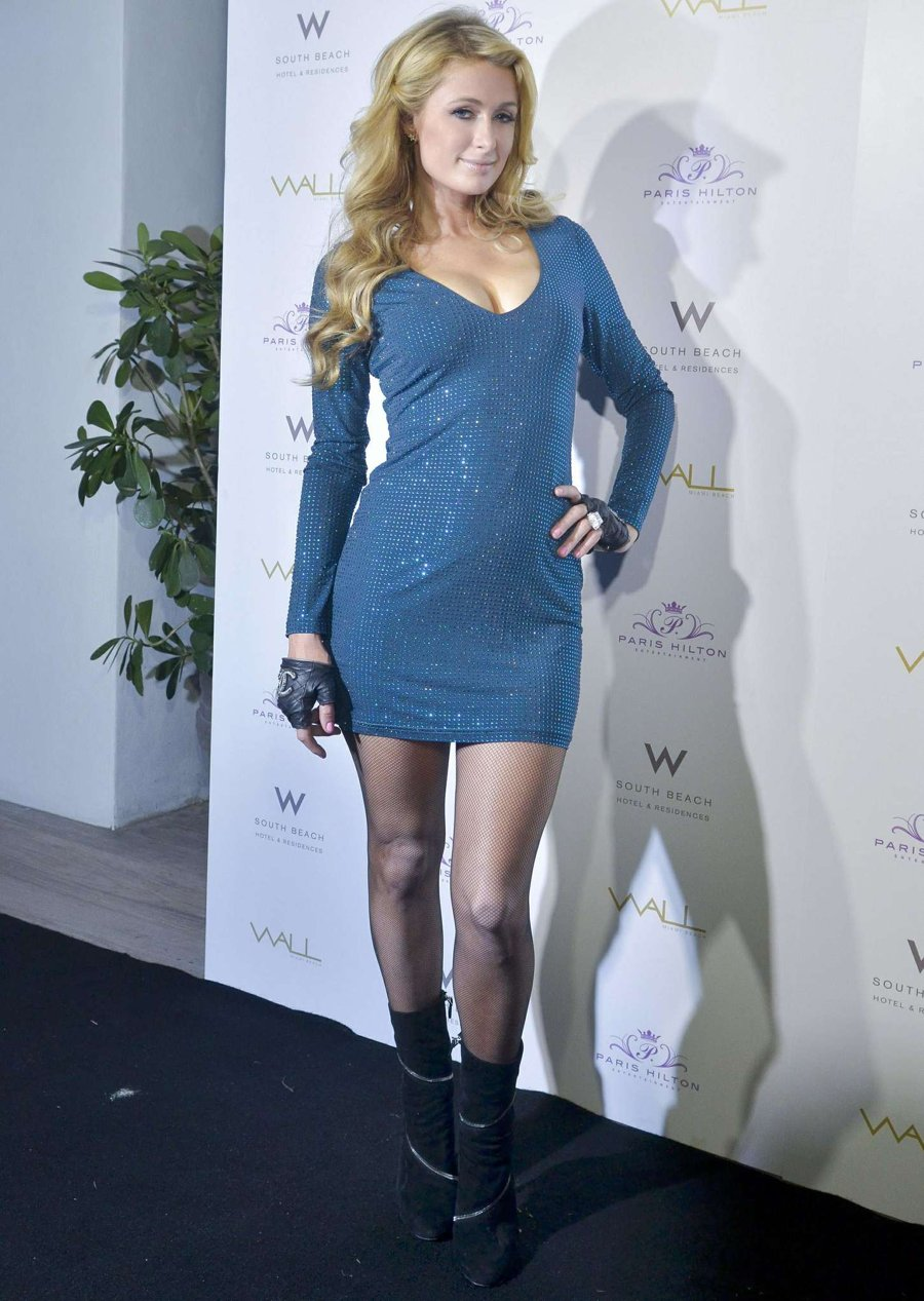 Paris Hilton - Wall Lounge during Art Basel