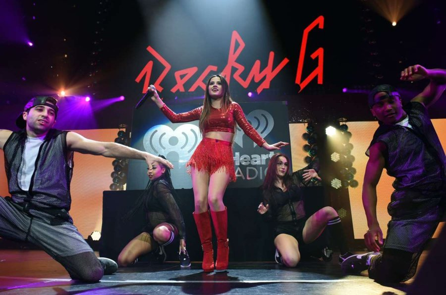 Becky G at Jingle Ball in St Paul