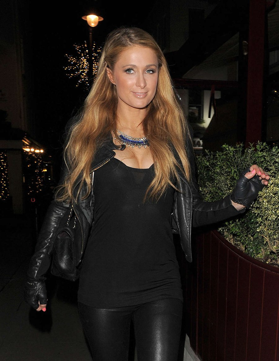 Paris Hilton Night Out in London