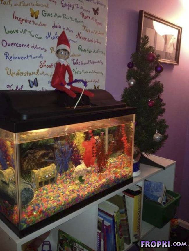 Elf of the Shelf is Pure Creepy