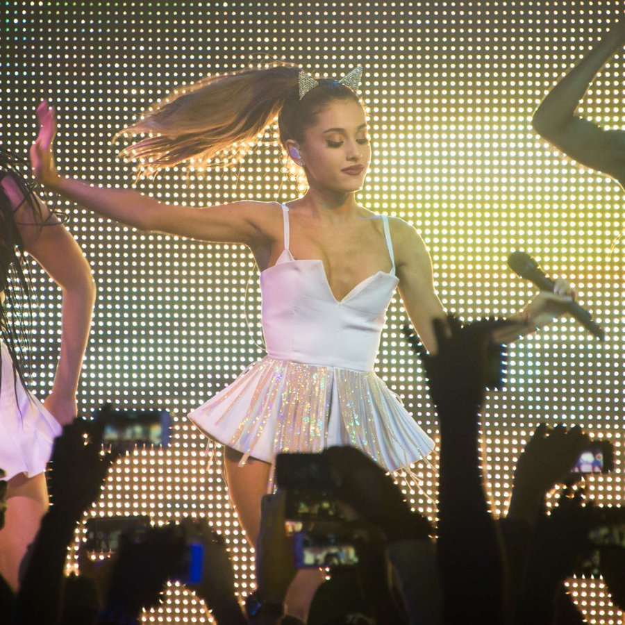 Ariana Grande at BPM Nightclub in NY
