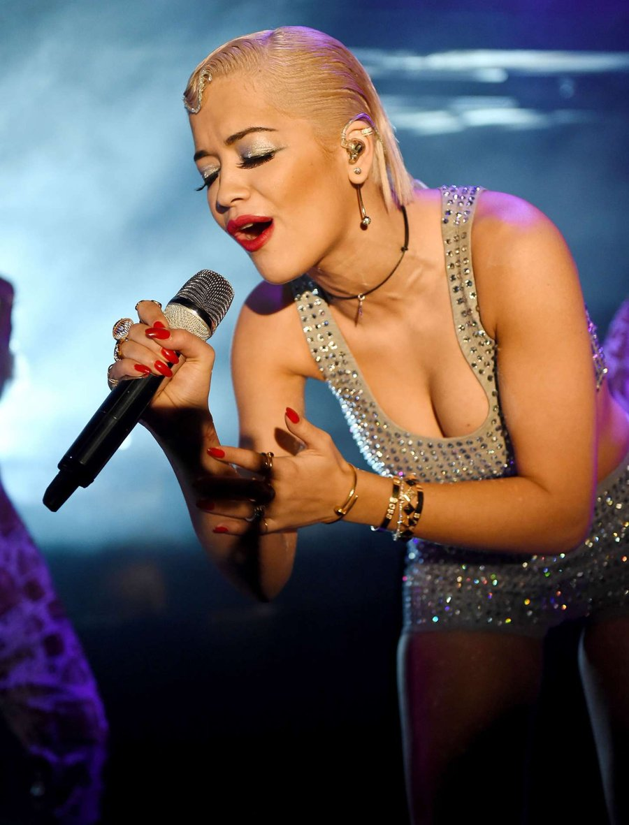 Rita Ora at Bush Empire in London