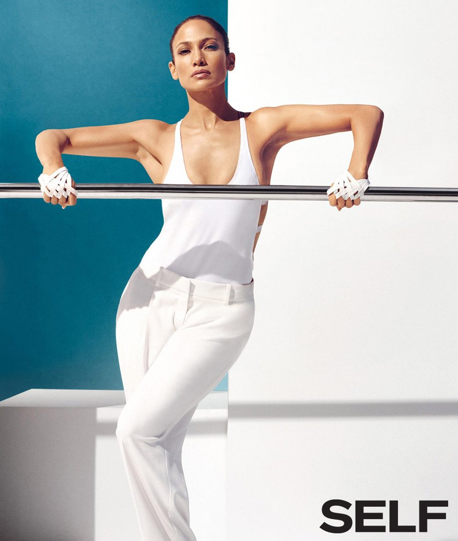 Jennifer Lopez - Self Magazine (Jan 2015)