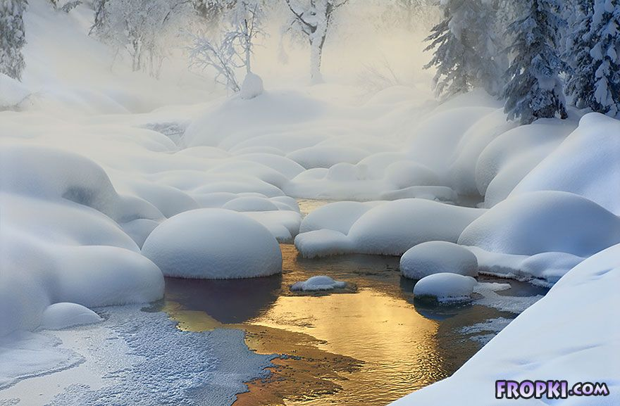 Breathtaking Photos of Winter Landscapes