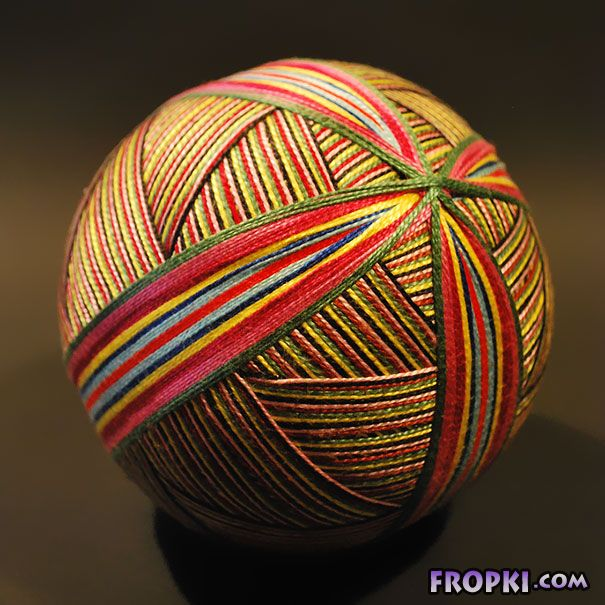 Grandmother Makes Collection Of Embroidered Spheres