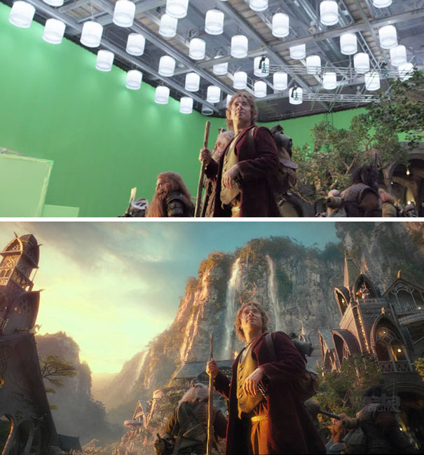 Movies Before and After Visual Effects