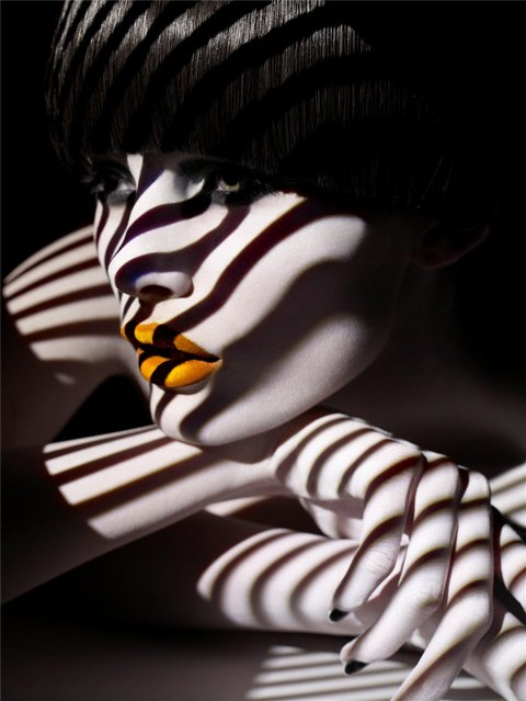 Shadow Photography Over Model's Body