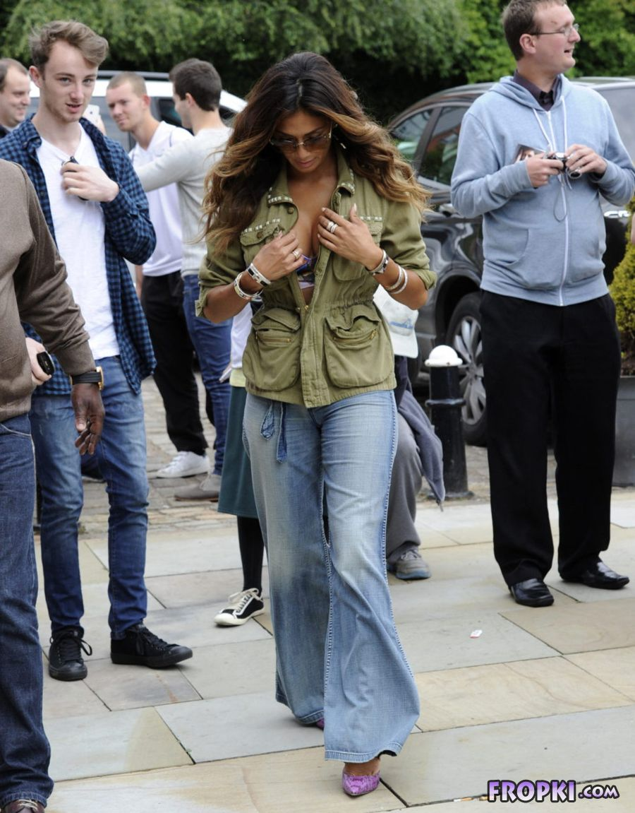 Nicole Scherzinger at Key Radio in England