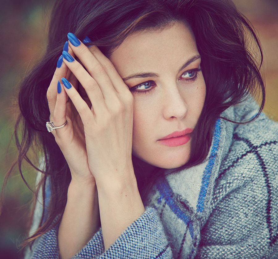 Liv Tyler - Violet Grey The July 2014 issue