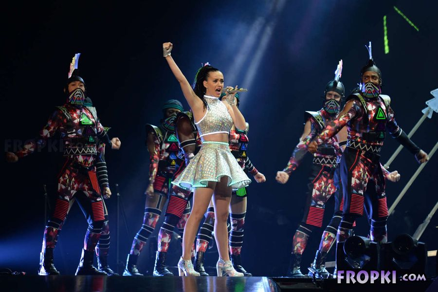Katy Perry in Prismatic tour in NYC