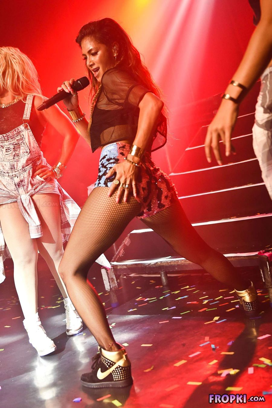Nicole Scherzinger performing at G-A-Y in London