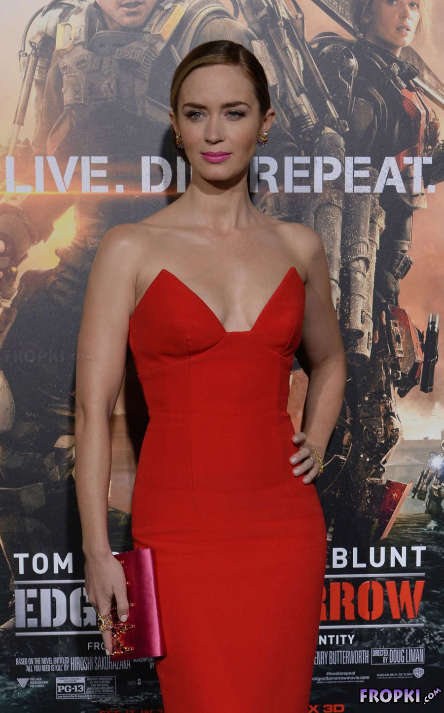 Emily Blunt - Edge of Tomorrow New York premiere