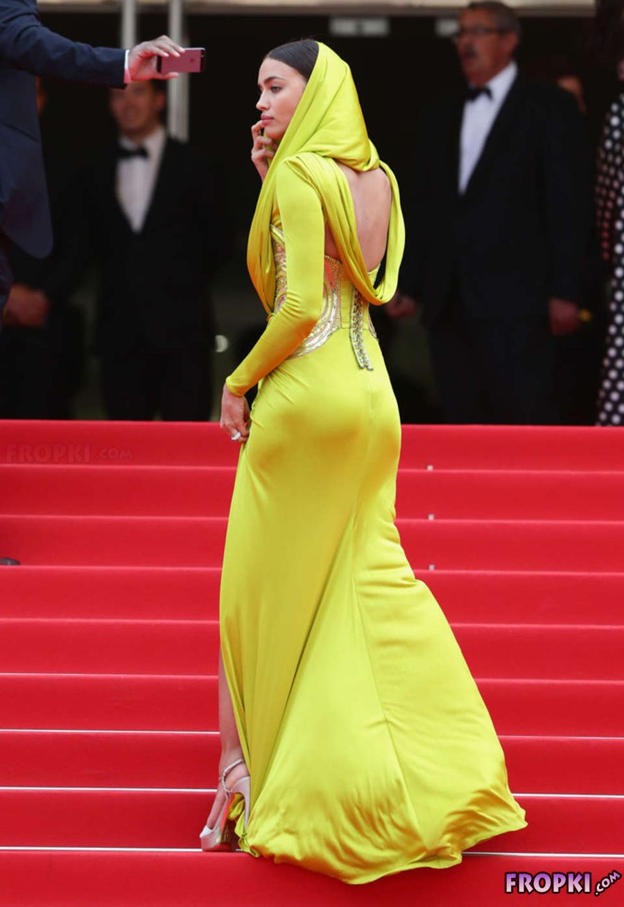 "Irina Shayk at Cannes Festival ""The Search"" Premiere"