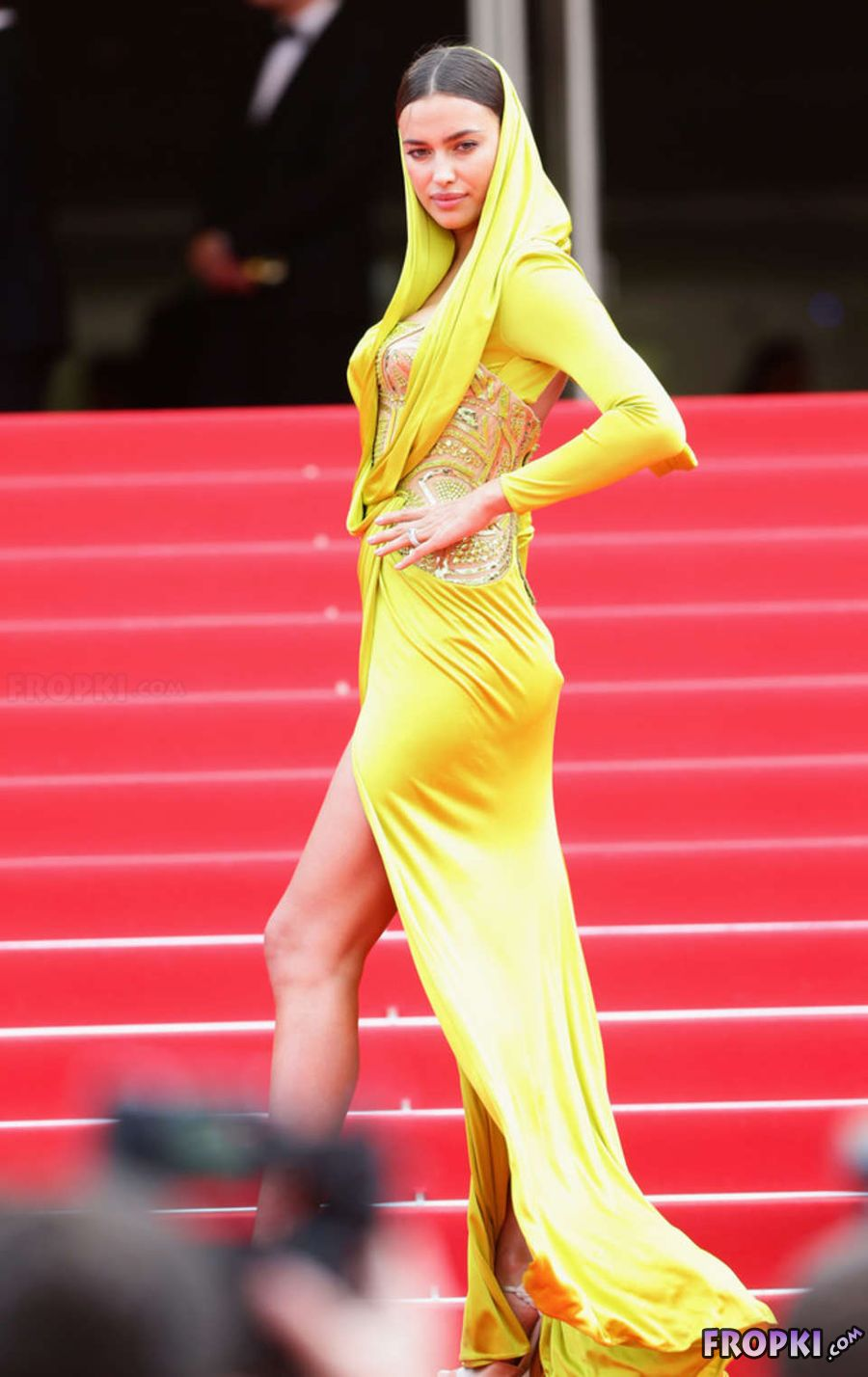 """Irina Shayk at Cannes Festival """"The Search"""" Premiere"""
