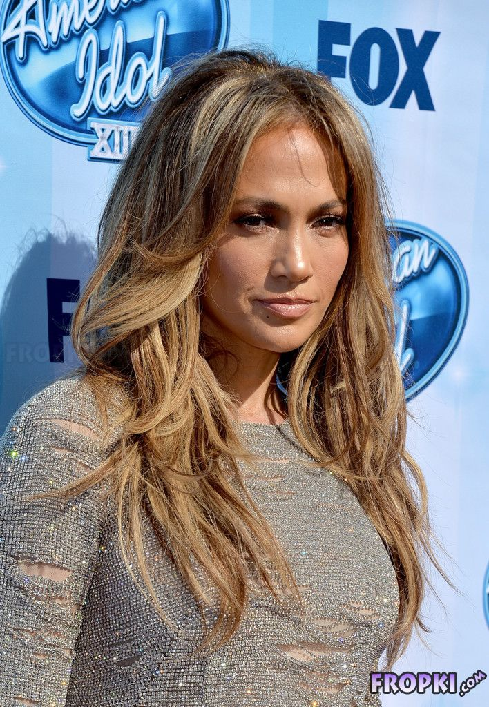 Jennifer Lopez at American Idol Finale in LA