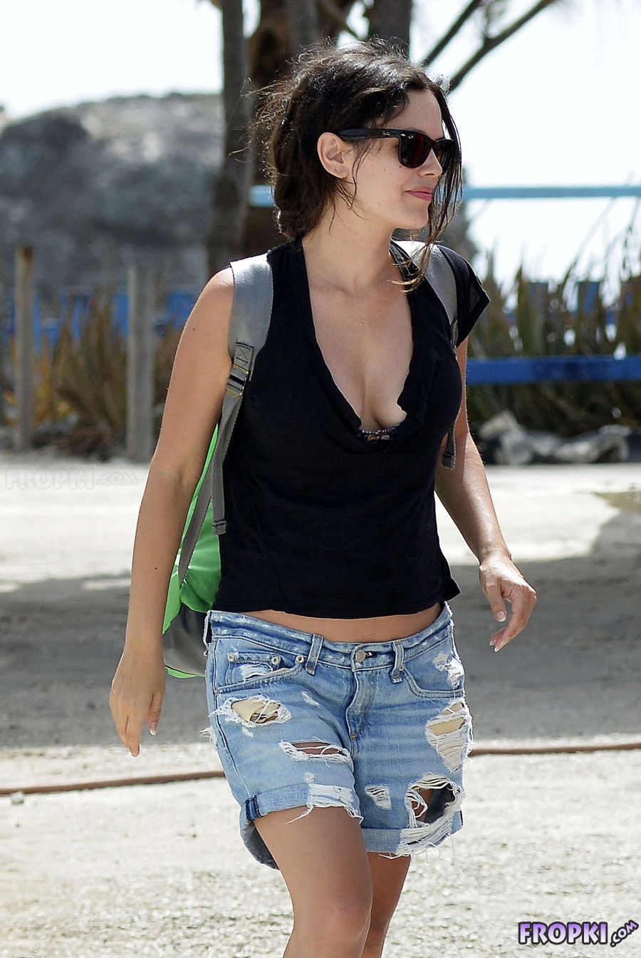 Rachel Bilson on her vacation in Barbados