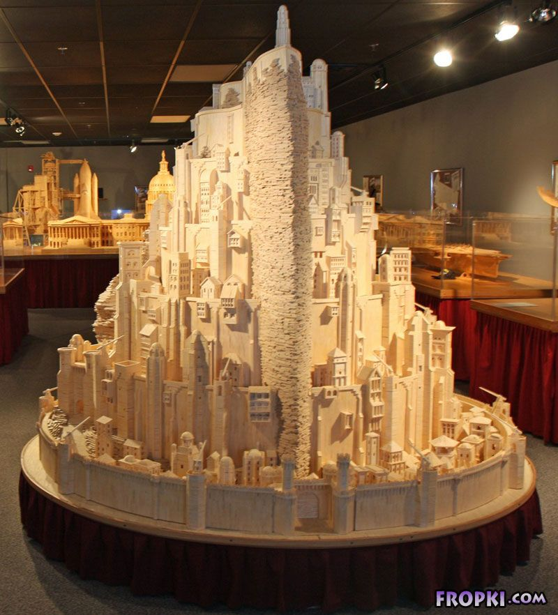City of the Kings made from 4,20,000 Matchsticks