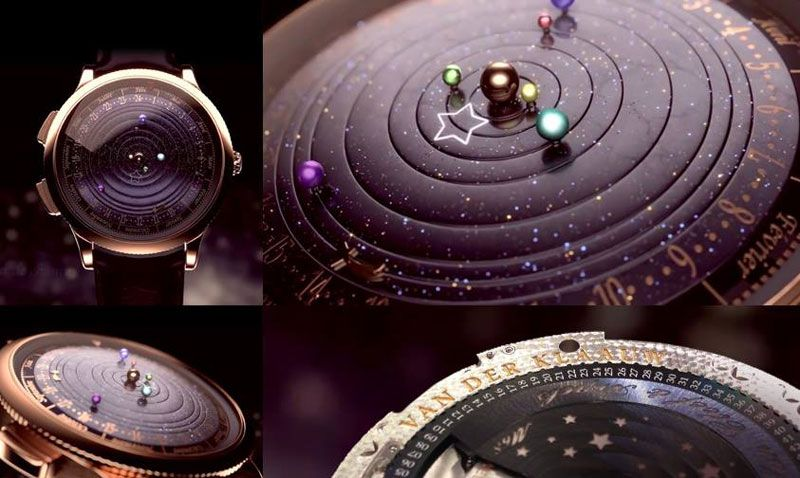 Astronomical Watch Shows Our Solar System