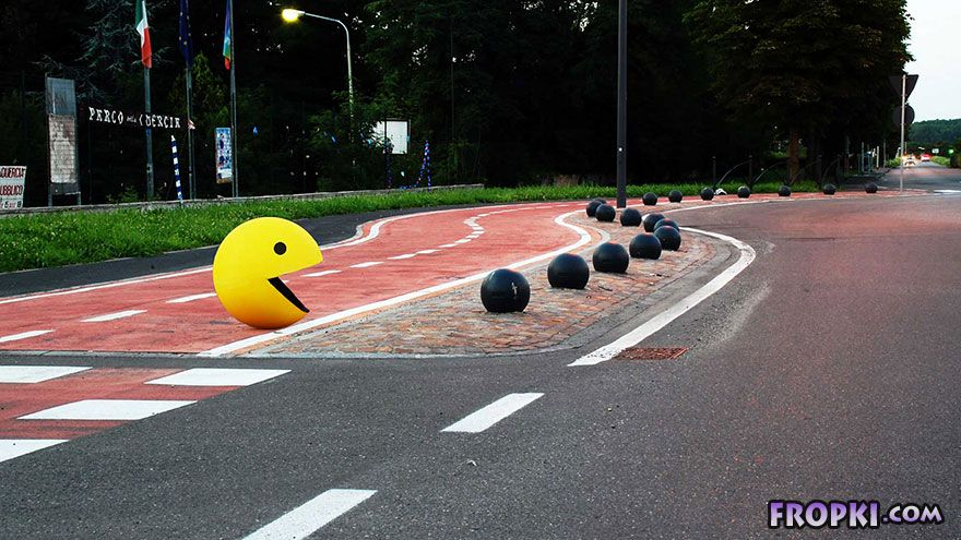 Clever Street Art From Italy