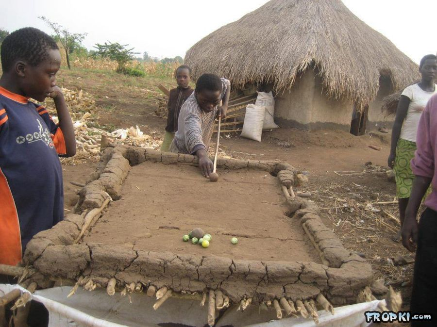 Pool Table in Villages