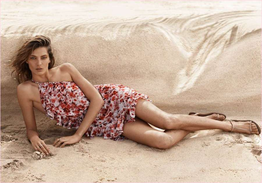 Daria Werbowy - Mango Catalogue Summer 2014