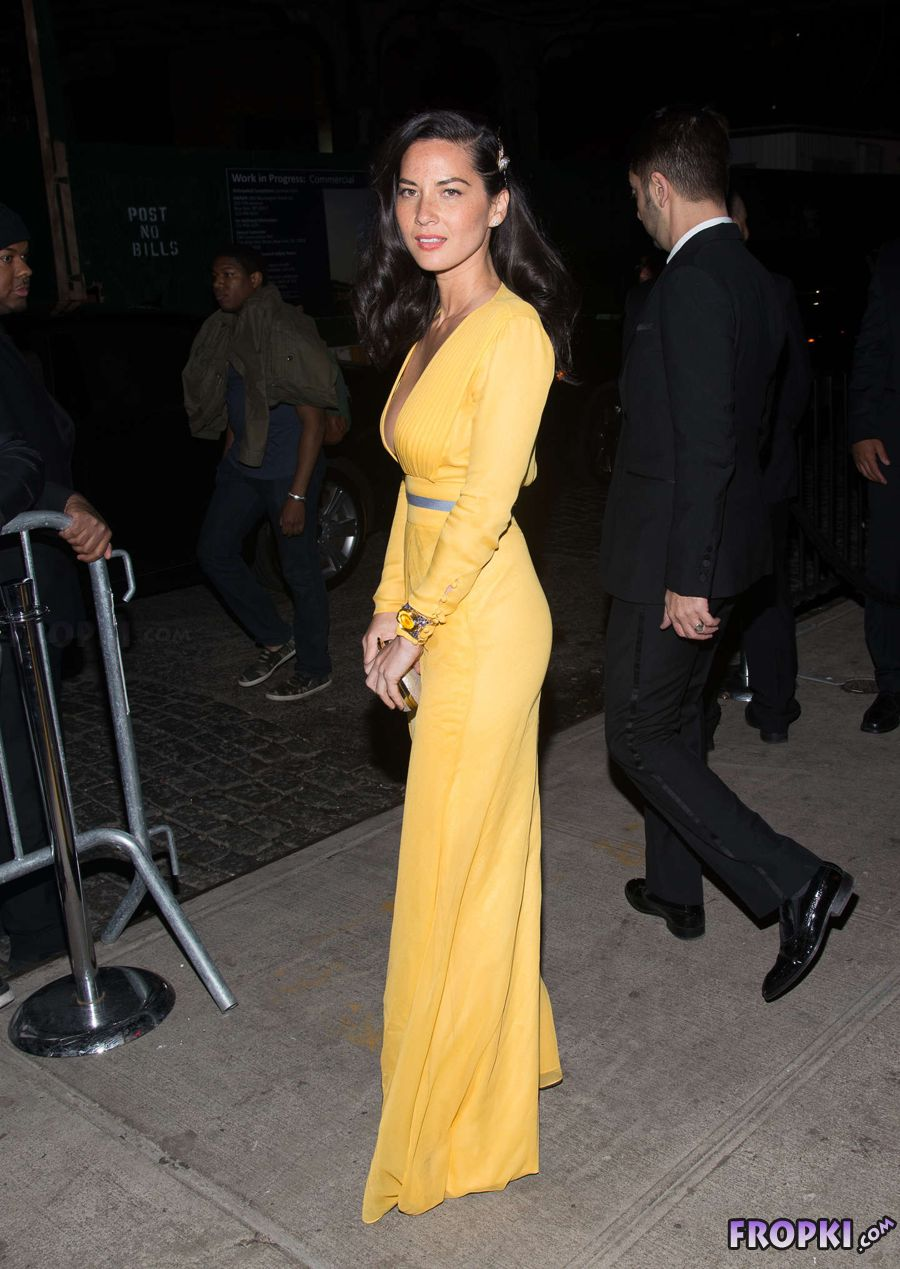Olivia Munn - MET Costume Institute Gala in NYC