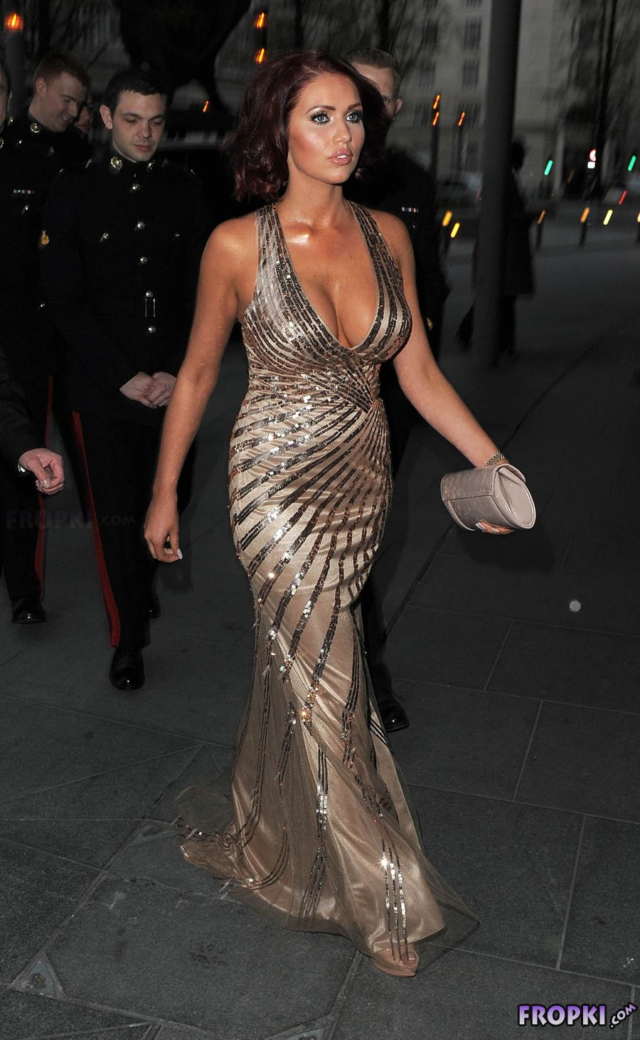 Amy Childs - Soldiering on Awards 2014 in London