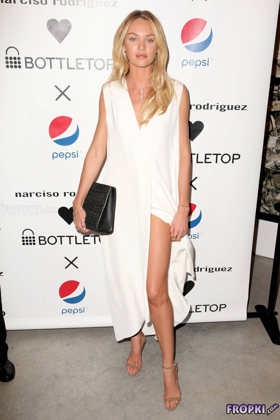 Candice Swanepoel - Narciso Rodriguez Pepsi US Launch