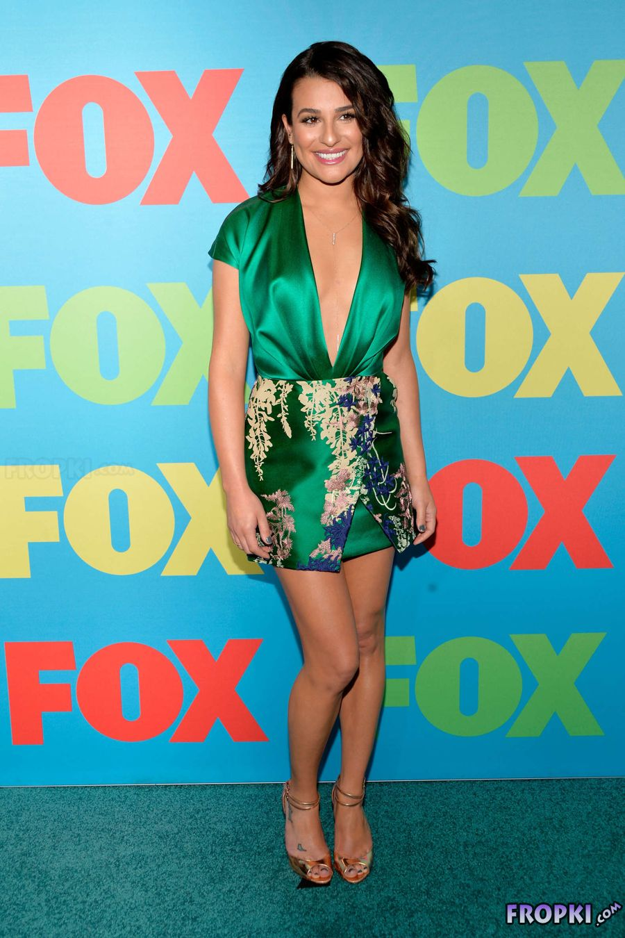 Lea Michele - Fox Upfronts 2014