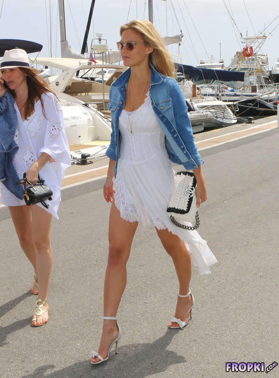 Bar Refaeli Roaming Out in France