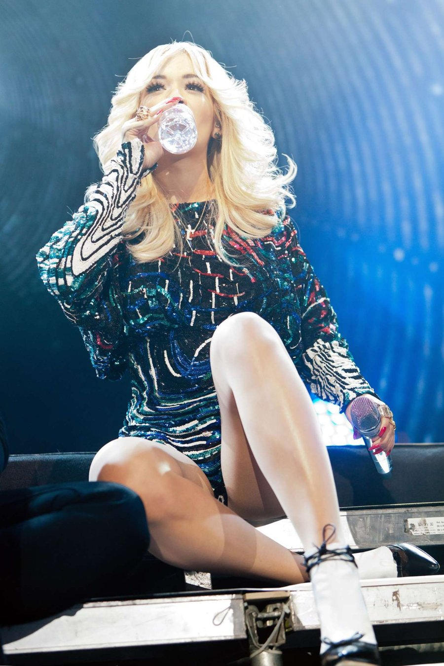 Rita Ora takes Moscow by Storm