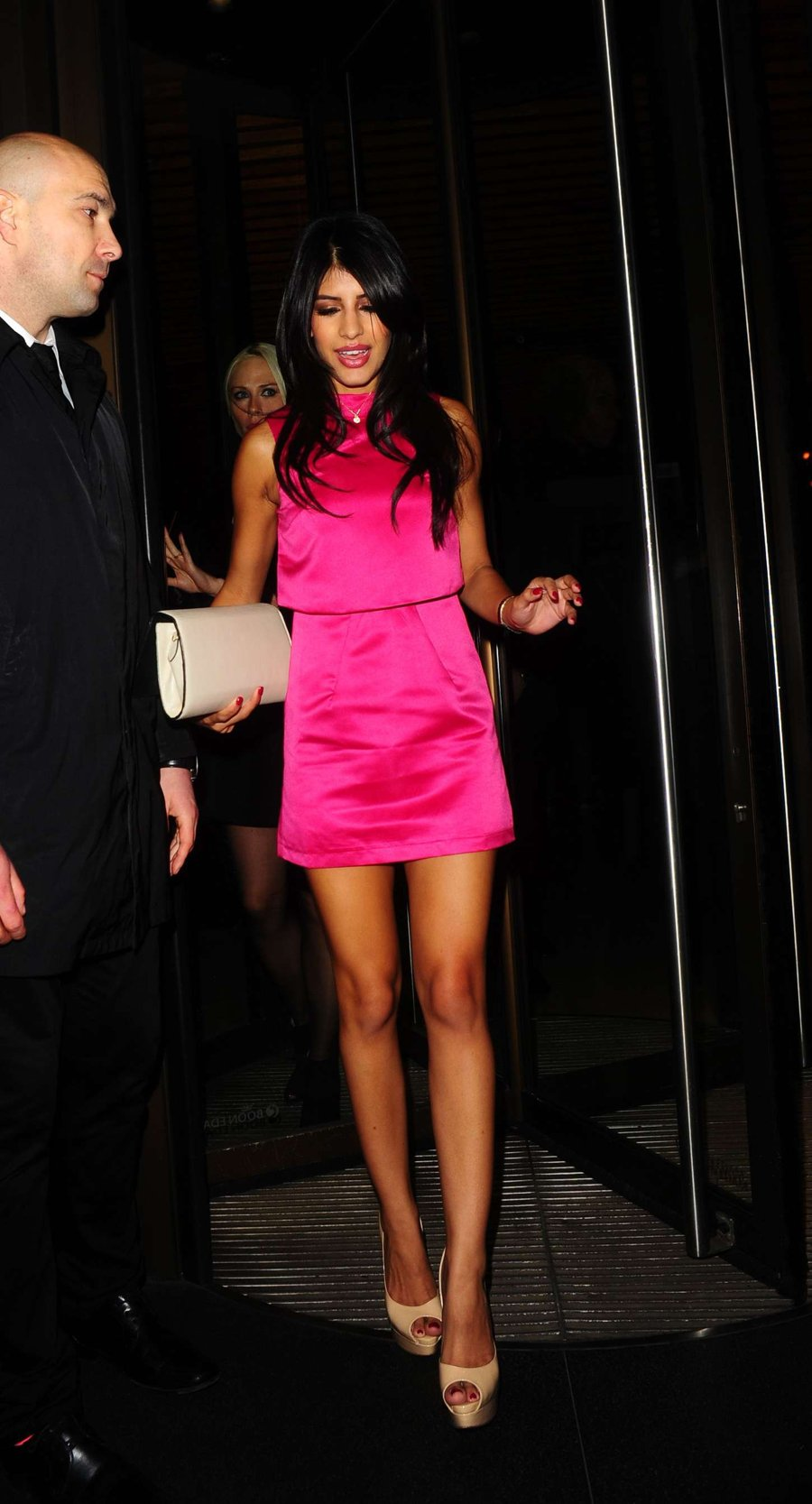 Jasmin Walia at Novikov Restaurant in London