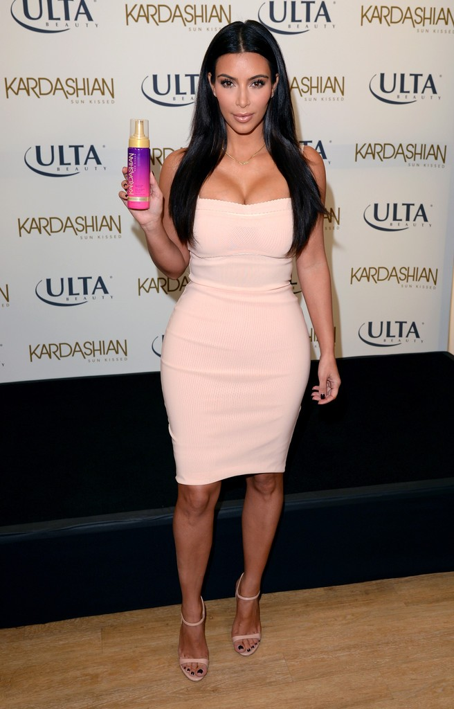 Kim Kardashian - 'Sun Kissed' Event in L.A.