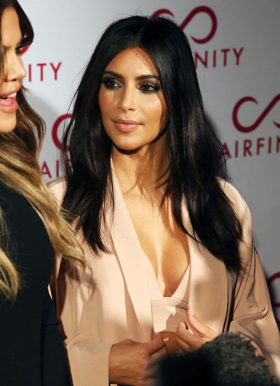 Kim Kardashian - The Hairfinity Launch Party