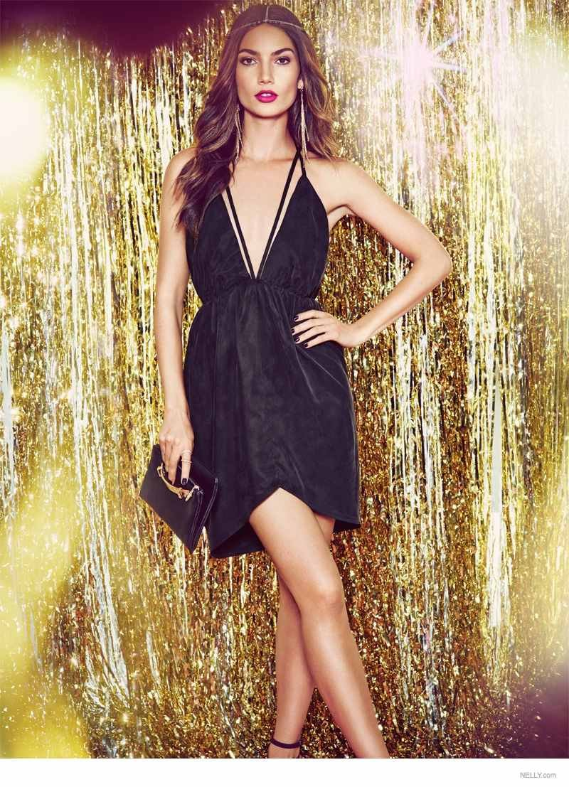 "Lily Aldridge for Nelly ""New Icons"" Campaign 2015"
