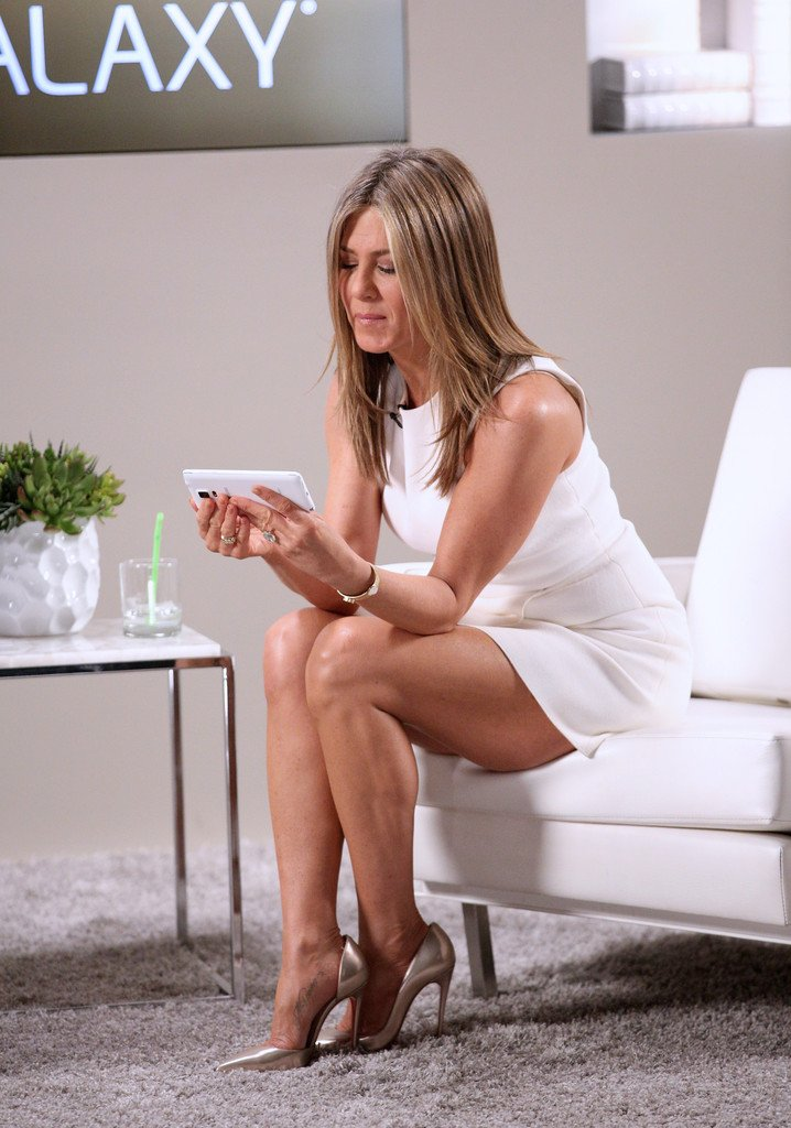 Jennifer Aniston Sexy at Variety Studio