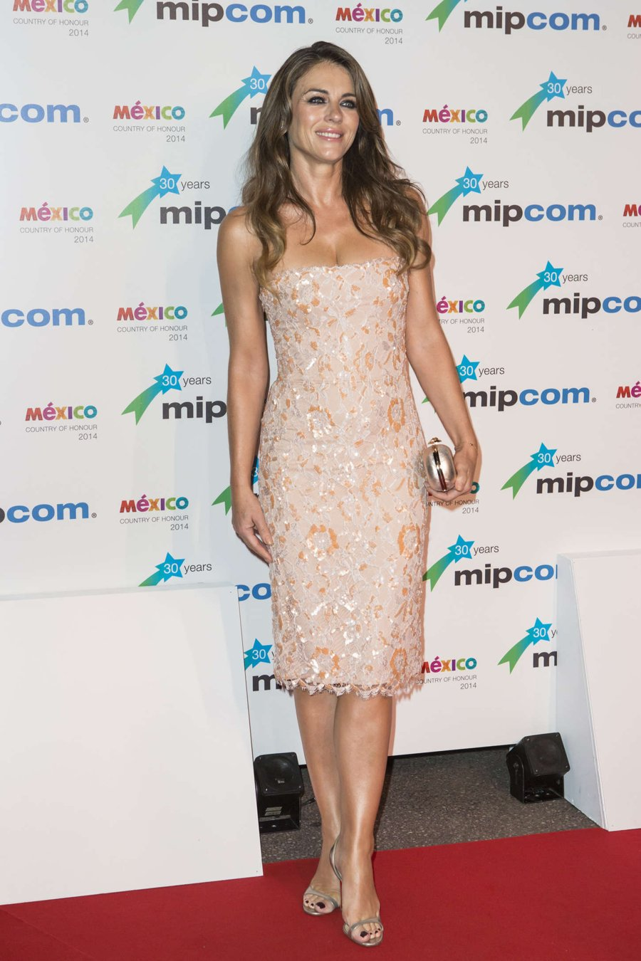 Elizabeth Hurley at MIPCOM Opening Party