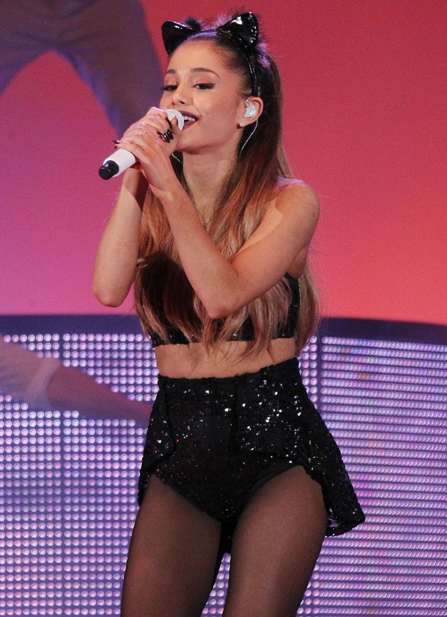 Ariana Grande at VMWare's Halloween Party